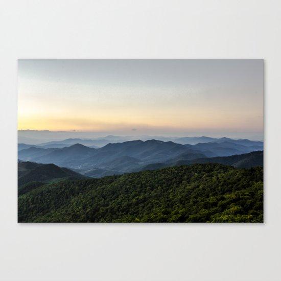 Blue Ridge Canvas Print
