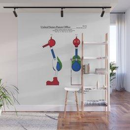 Drinking Bird Patent Wall Mural