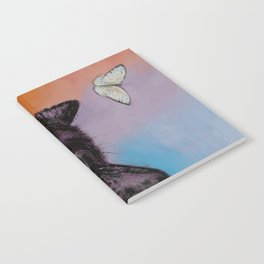 Black Cat Butterfly Notebook