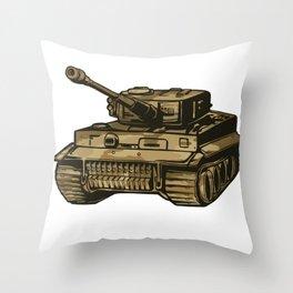 Panzer Throw Pillow
