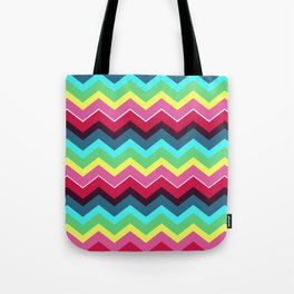 Fiesta Chevron Tote Bag