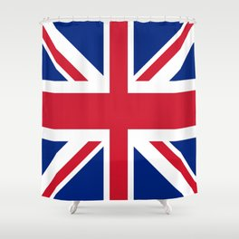 Flag of the United Kingdom Shower Curtain