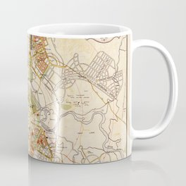 Map of Canberra 1927 Coffee Mug