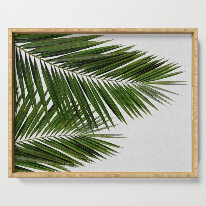 Palm Leaf II Serving Tray