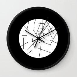 Batonnets Wall Clock
