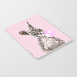 Bubble Gum Baby Kangaroo Notebook