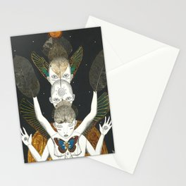 Tri-Ego Rising Stationery Cards