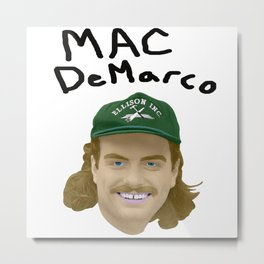 Mac DeMarco - Good Molestor 2 Metal Print