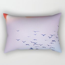 Vietnam fishing poster, Rectangular Pillow