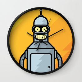 Bender Wall Clock