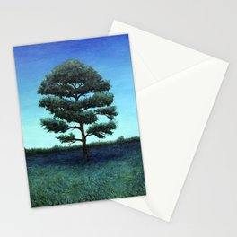 Nocturnal Southern Pine Stationery Cards