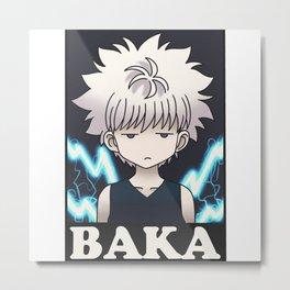 Killua BAKA Metal Print