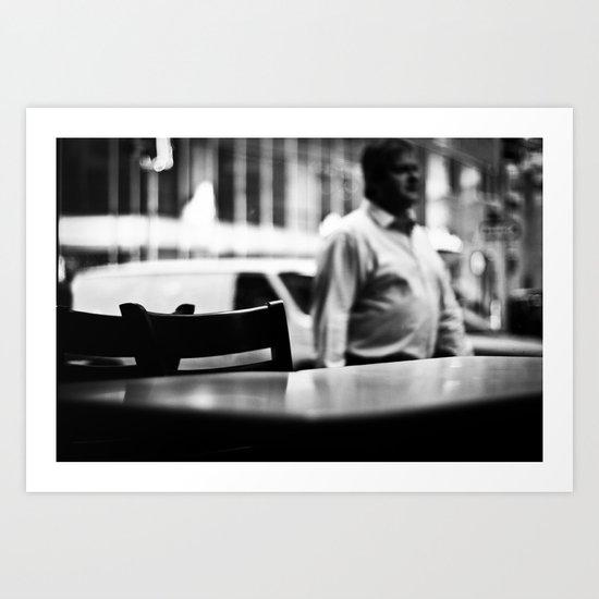 Empty Diner Art Print