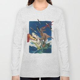 Crazy Raptor Long Sleeve T-shirt