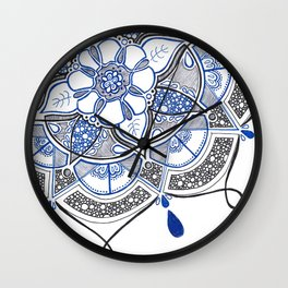 Radial 11 Wall Clock