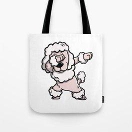 Dabbing Poodle Dog Dab Dance Tote Bag