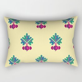 Vegetable: Beetroot Rectangular Pillow