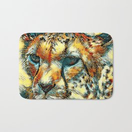 AnimalArt_Cheetah_20171005_by_JAMColorsSpecial Bath Mat