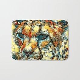 AnimalArt_Cheetah_20171005_by_JAMColorsSpecial Bath Mat