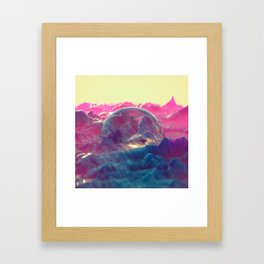 Primordial Sunrise Framed Art Print