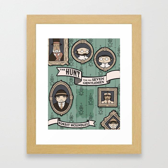 The Hunt for the Seven Gentlemen Framed Art Print