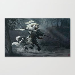 White Centaur Canvas Print