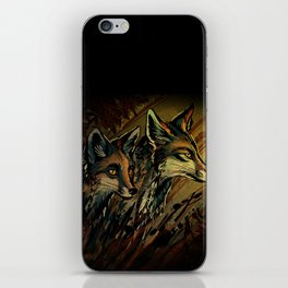 Shadows And Dust iPhone Skin