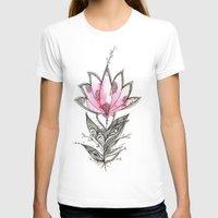 lotus T-shirts featuring Lotus by Himadri Pachori