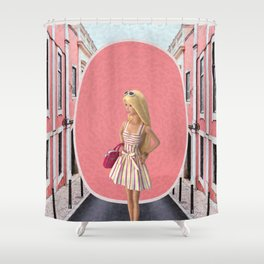 Barbie girl Shower Curtain