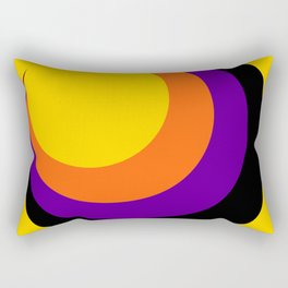 Psychedelic Sun Rectangular Pillow