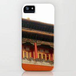 Forbidden City Building iPhone Case
