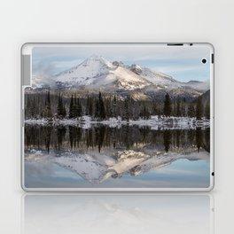 Broken Top sunrise reflection Laptop & iPad Skin