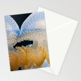 Double Blue Jellyfish - Underwater Photography Stationery Cards