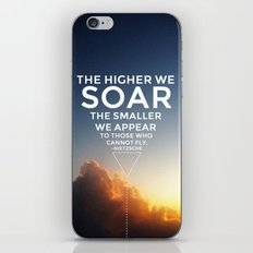 Soar. iPhone Skin