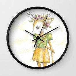 My Deer Wall Clock