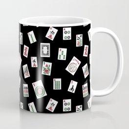 Black Mahjong Coffee Mug