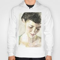 amelie Hoodies featuring Amelie Poulain  by Stefan Harris