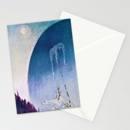 Kay Nielsen - White Bear Taking Her Daughter To The Palace - Digital Remastered Edition Stationery Cards