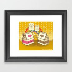 Milk Opera Framed Art Print