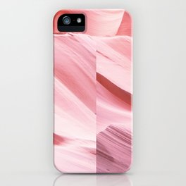 Pink Canyon iPhone Case