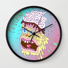 Psycho Candy Wall Clock