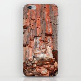 Agathe Log Texture iPhone Skin