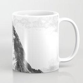 Black and White Mountain Coffee Mug
