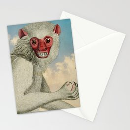 Monkey & Bee Stationery Cards