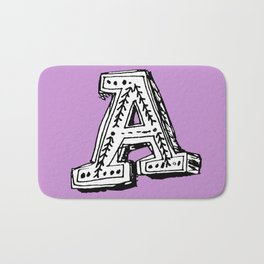 A is for... Bath Mat
