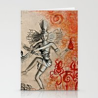 shiva Stationery Cards featuring Shiva by Maithili Jha