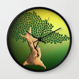 Beetle Bonsai Wall Clock