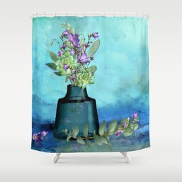 Pretty in Purple Shower Curtain