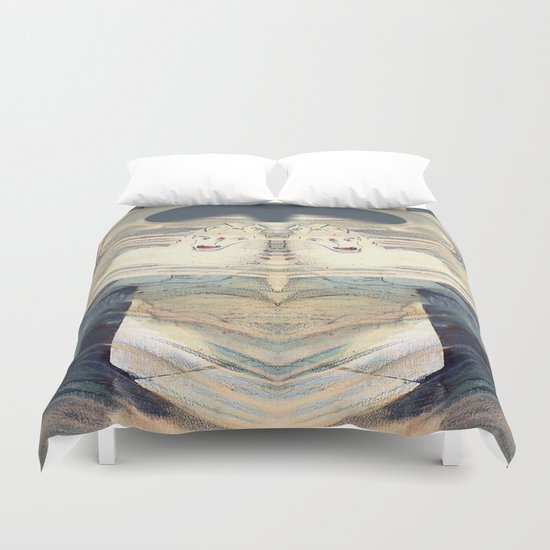 Mystical Horse Duvet Cover