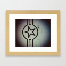 Air Force Insignia Framed Art Print